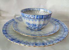 """Sammeltassen - ♔China Blau """"BAVARIA"""" Sammeltasse ♔ - ein Designerstück von cafe-antique bei DaWanda"""