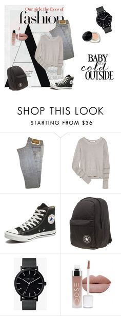 """""""Untittled"""" by bedwinargd on Polyvore featuring Versace, T By Alexander Wang, Converse, The Horse, Marc Jacobs, women's clothing, women's fashion, women, female and woman"""