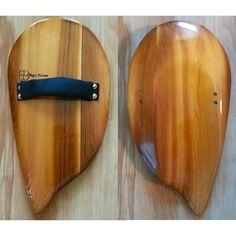 Asymmetrical Handplane for bodysurfing