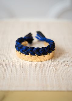 Blue and Black Copacabana Bracelet