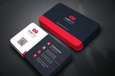 Business Cards by Genereuxart Business Postcards, Modern Business Cards, Business Card Design, Creative Business, Postcard Template, User Guide, Corporate Identity, Templates, Content