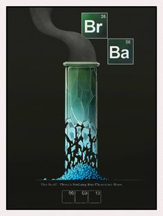 Breaking Bad poster by Nathan Hall Breaking Bad Party, Breaking Bad Poster, Bad Wallpaper, Breking Bad, Learn Computer Coding, Animation Stop Motion, Funny Quotes For Instagram, Best Tv Shows, Cool Tattoos