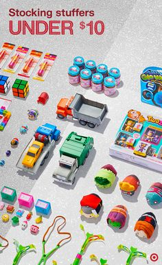Need budget-friendly stocking stuffers? Good news: These ideas are all under $10. Find a little something extra for every kid on your list: toddler or teen, boy or girl, Rubik's cube whiz or adventure seeker. These treats are such a steal, it's hard to say who will love them more. (Don't do stockings? These would make great holiday road-trip surprises, too.)