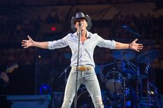He's all in. GRAMMY winner Tim McGraw opens up during a performance on Feb. 8 in San Antonio