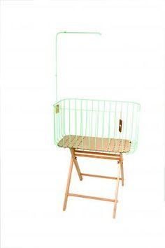 Baby London Magazine - mint fashion. &Me mint green cot