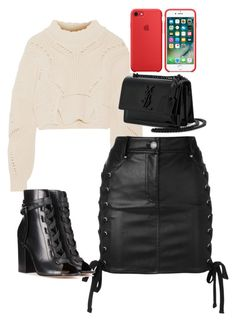 """Untitled #299"" by laurach81 on Polyvore featuring Isabel Marant, Versus, Gianvito Rossi and Yves Saint Laurent"