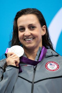 Rebecca Soni won the first silver medal of London 2012 for USC with the narrowest of defeats in the 100m breaststroke. Soni, who finished second in the same event at Beijing 2008, started slowly before chasing down the field and getting outtouched for gold by a mere .08 seconds. #LON2012USC