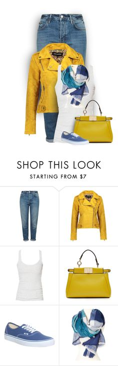 """""""Untitled #1364"""" by tinkertot ❤ liked on Polyvore featuring Trilogy, Topshop, Steve Madden, Zara, Fendi and Vans"""