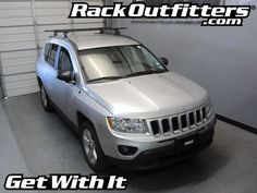 Rack Outfitters - Jeep Compass Thule Podium Square Bar Base Roof Rack '11-'14*, $327.85 (http://www.rackoutfitters.com/jeep-compass-thule-podium-square-bar-base-roof-rack-11-14/)