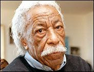 """Gordon Parks was the first African-American to work as a staff photographer for Life magazine and the first black artist to produce and direct a major Hollywood film,  """"The Learning Tree,"""" in 1969."""