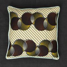 African print cushion - Darkroom