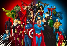 DC/MARVEL: Justice League and The Avengers by kyomusha on DeviantArt