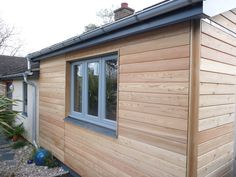 Siberian Larch, Heartwood, Halflap / Shiplap for Cladding or Fencing *New fine sawn face (pack) - 20 lin mtrs pieces - Timber Focus Shed Cladding, Wood Cladding Exterior, Larch Cladding, Shiplap Cladding, Wood Facade, Garage Workshop Plans, Cladding Materials, Log Siding, Cottage Floor Plans