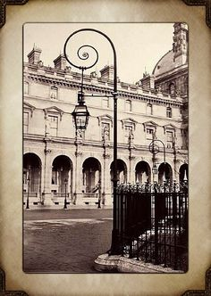 Paris, late 19th century Charles Marville