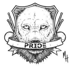 A emblem logo design i did for Pride Drums