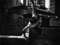 Dramatic Action Portraits Capture the Art of Freerunning,  Gudzowaty