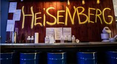 Bientôt un bar Breaking Bad à Paris