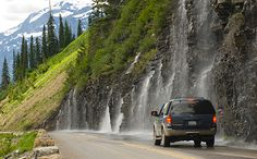 Going-to-the-Sun Road is located within Glacier National Park, which is located in northwestern Montana approximately 40 miles east of Kalispell on U.S. 2 and 89 and near U.S. 91 and 93.