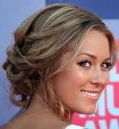 I like this because it's simple while still fun and elegant and can also accommodate various hair lengths.