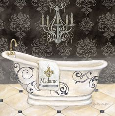 RB5694CC <br> His & Hers Tub I <br> 12x12