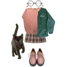 Untitled #64 by meh-okay on Polyvore featuring American Apparel