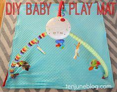 Ten June: DIY Baby Play Mat Sewing Tutorial