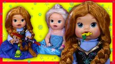 6ce4a54306 Frozen Anna Custom Baby Alive Eats Play-Doh Olaf Poops Surprise Blind Bags