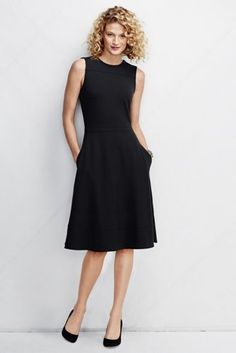 Women's Ponté A-line Dress