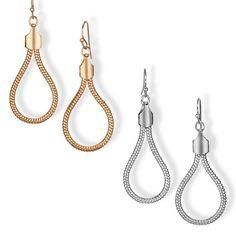 Avon Natural Falcon Earrings.  Reg. Price: $14.99. To Shop, go to: cwood.avonrepresentative.com
