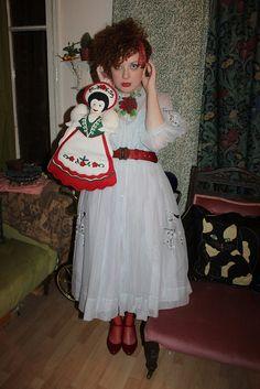 Dressing like a Hungarian doll by Nicole Eymard, via Flickr