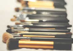 how to clean your brushes: http://www.ashressaday.com/2012/11/29/how-i-clean-my-makeup-brushes/