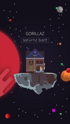 Gorillaz - Saturnz Barz