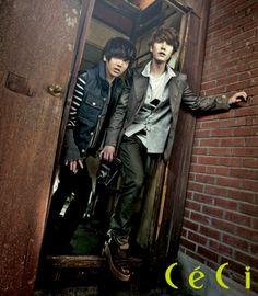Yesung and Kyuhyun of Super Junior (슈퍼주니어)