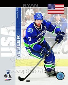 Canucks Ryan Kesler Photo