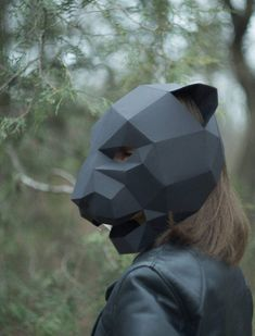 Panther Mask,Cat Mas