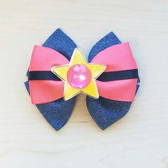 Steven Universe Inspired Hair Bow Hair by BerryTreasured on Etsy