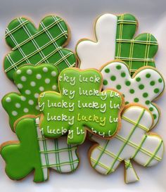St. Patrick's Day Cookies | One tough cookie