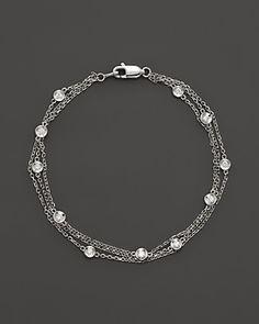 0.33 cttw Round-Cut-Diamond bangle-bracelets Size 9.25 inches HallMarked 14K Yellow Gold IJ| SI