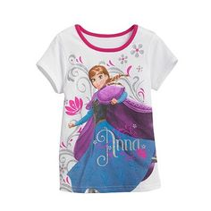 Disney Frozen Anna Tee - Girls 4-6x