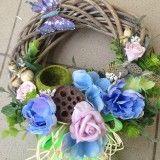 Vencek modro-fialový / anad333 - SAShE.sk - Handmade Dekorácie