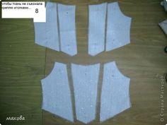 Гардероб Мастер-класс Шитьё детский корсет для платья Ткань фото 8
