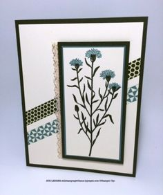 Handmade card using the Wild about Flowers stamp set from Stampin' Up! #MOJO401