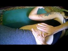 ▶ Prenatal Massage Techniques (5/5) Hip and Leg (Side-lying position) - YouTube