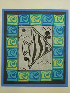 The Calvert Canvas: Adventures in Middle School Art!: 5th Grade