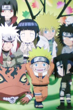 Kids version of Naruto Shippuden... how cute <3