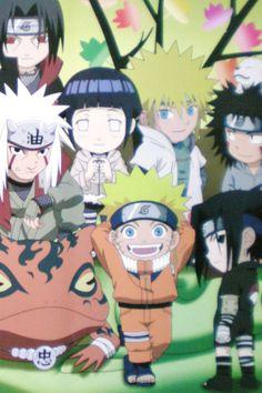 Kids version of Naruto Shippuden... how cute <3
