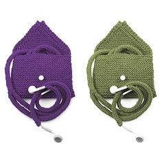 kit to knit covers for ear buds...ear buds not included