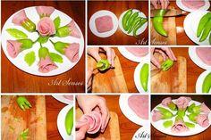 Imagini pentru idei pentru decorat aperitive