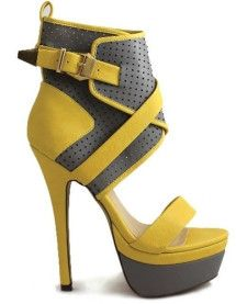 The Elby by Liliana is showing off this great fashion trend - ankle straps