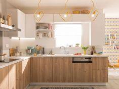 & & & & Cuisine Leroy Merlin Delinia ID Lugano, Kitchen Island, Kitchen Cabinets, Home Projects, Modern Decor, Kitchen Decor, Table, Furniture, Design